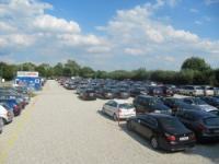 Parkplatz Flughafen München